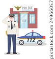 男性 男人 警察 24966057