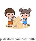 海滩 男孩 儿童 24966082