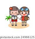 海滩 男孩 儿童 24966125