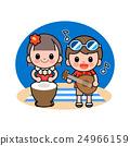 海灘 男孩 兒童 24966159