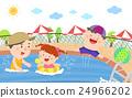儿童 游泳 水池 24966202