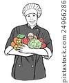 烹饪 男性 男人 24966286