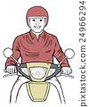 自行車 人 腳踏車 24966294