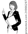 女性 女人 商业 24966297