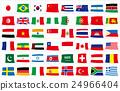 旗幟 旗 橫幅 24966404