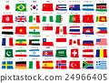 旗幟 旗 橫幅 24966405