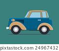 Vintage  car. 24967432