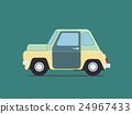 Vintage  car. 24967433
