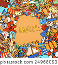 Summer frame 24968093