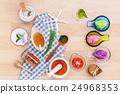 Alternative skin care and homemade scrubs  24968353