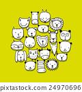 character, animal, set 24970696