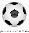 Isolate soccer ball 24970930