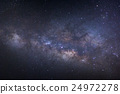 Milky way galaxy with stars and space dust  24972278