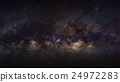 Panorama milky way galaxy on a night sky 24972283