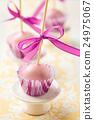 Pink cake pops 24975067
