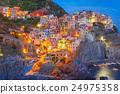 Night Manarola, Cinque Terre, Liguria, Italy 24975358