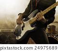 貝斯手 手指 吉他彈奏者 24975689