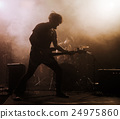 band guitarist performance 24975860