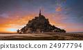 Mont Saint Michel tidal island 24977794
