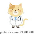 doctor physician cat 24980788