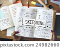 handwriting, ideas, sign 24982660