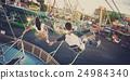 Amusement Park Funfair Festive Playful Happiness Concept 24984340