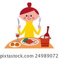 午餐 午饭 正餐 24989072