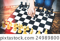 Chess Game Strategy Thinking Hobbies Leisure Concept 24989800