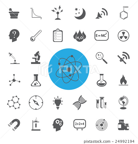 Science vector set.Vector/illustration. 24992194