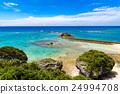 오키나와, 바다, 해안 24994708