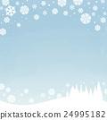 winter snowy sky 24995182