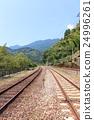 railroad, railway, track 24996261