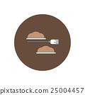 Vector illustration in flat design Halloween icon 25004457
