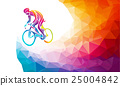 bike, cyclist, vector 25004842
