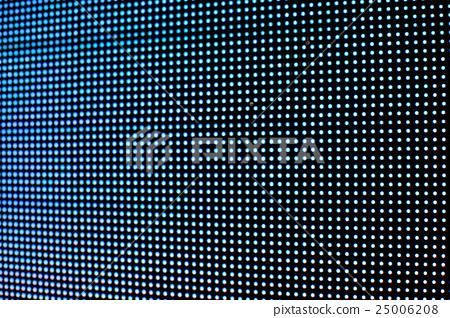 Abstract blurred bulb LED screen. 25006208