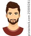 Man Beard 25009281