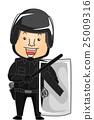 Man Riot Police 25009316