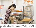 ร้านสะดวกซื้อ,ผู้หญิง,หญิง 25009593
