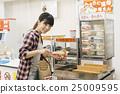 ร้านสะดวกซื้อ,ผู้หญิง,หญิง 25009595