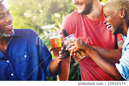 Celebration Party Backyard Friendship Enjoyment Concept 25010174