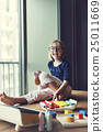 Adorable Smart Girl Home Concept 25011669