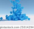 立方體 方塊 水滴 25014294