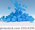 立方體 方塊 水滴 25014295
