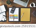商業 商務 桌子 25015531
