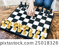 Chess Game Strategy Thinking Hobbies Leisure Concept 25018326