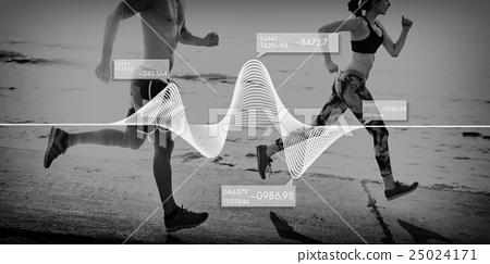 Analysis Statistics Business Data Diagram Growth Concept 25024171