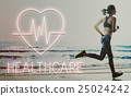 Cardiac Cardiovascular Disease Heart Graphic Concept 25024242