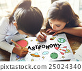 Outer Space Icons Drawing Graphics Concept 25024340
