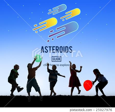 Asteroids Astronomy Exploration Nebular Concept 25027976