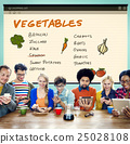 Vegetables Nutrition Shopping List Concept 25028108